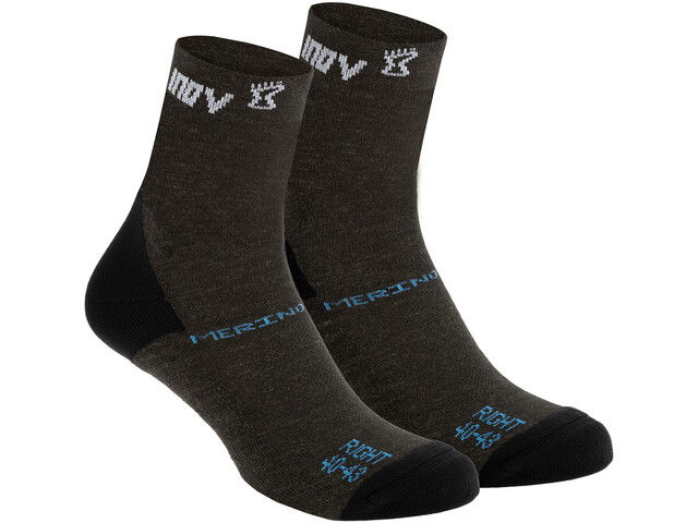 inov-8 Merino Chaussettes hautes, black